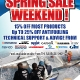 Spring Sale Weekend 2011 DL Flyer 3mm bleed.indd