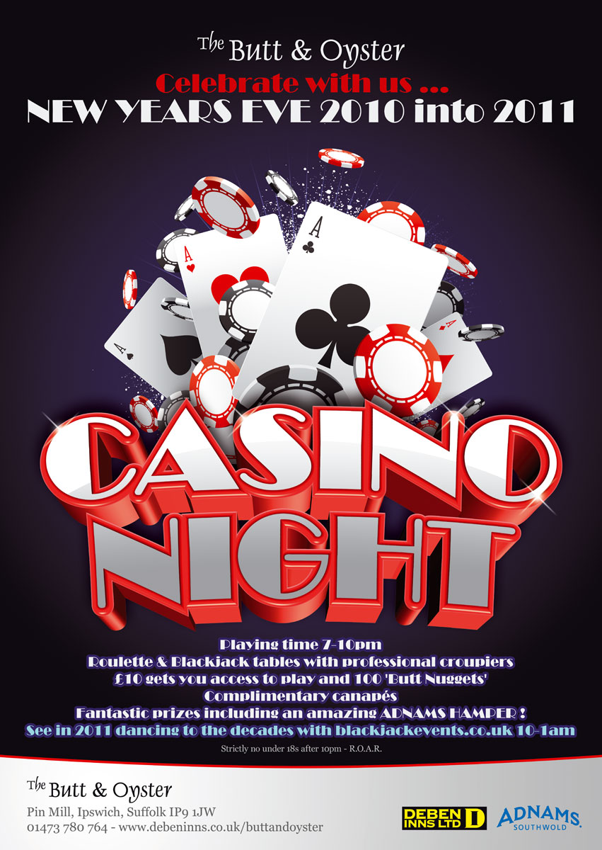 Casino Night Images Casino Night Poster by Bang a