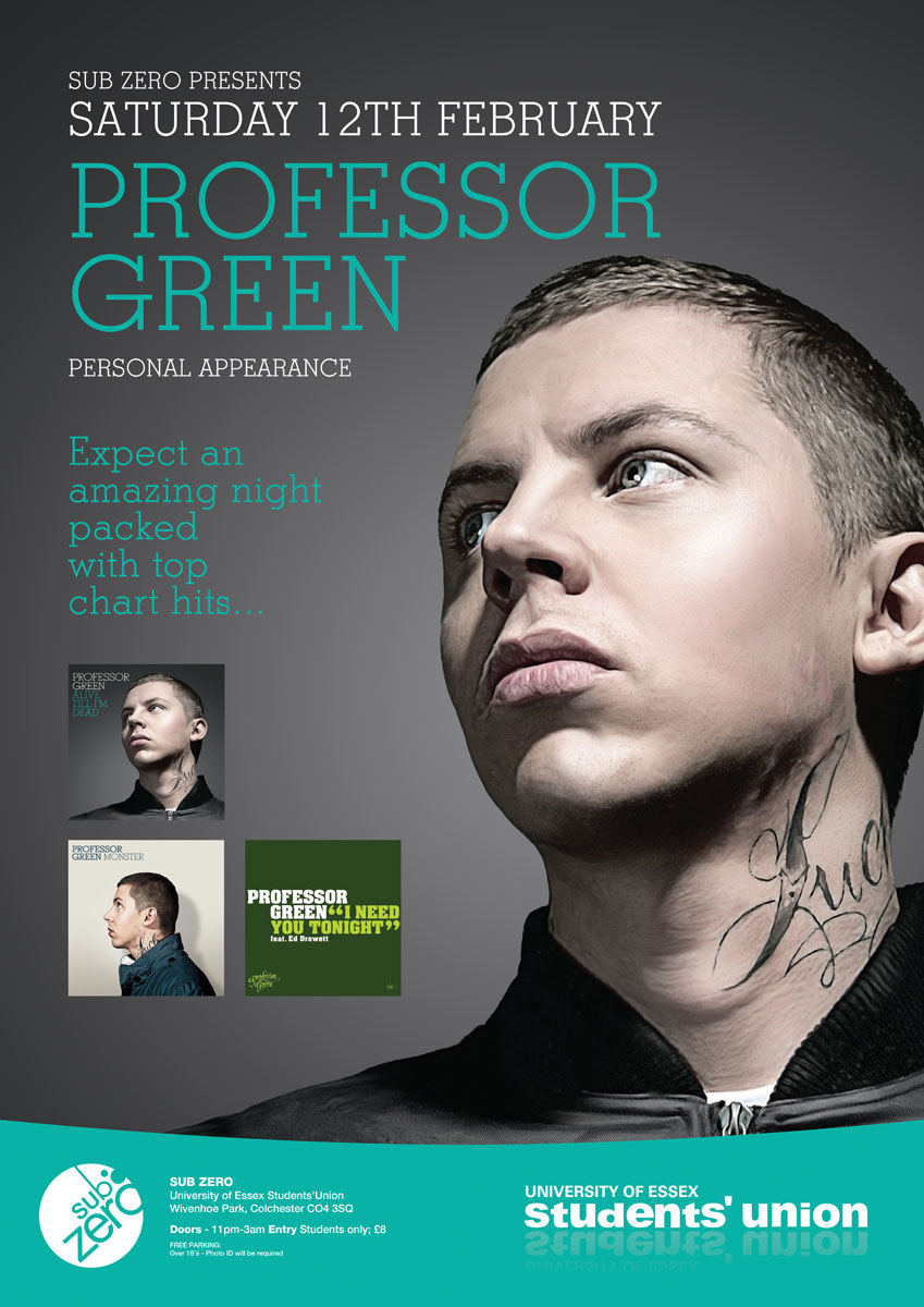 Professor Green Poster